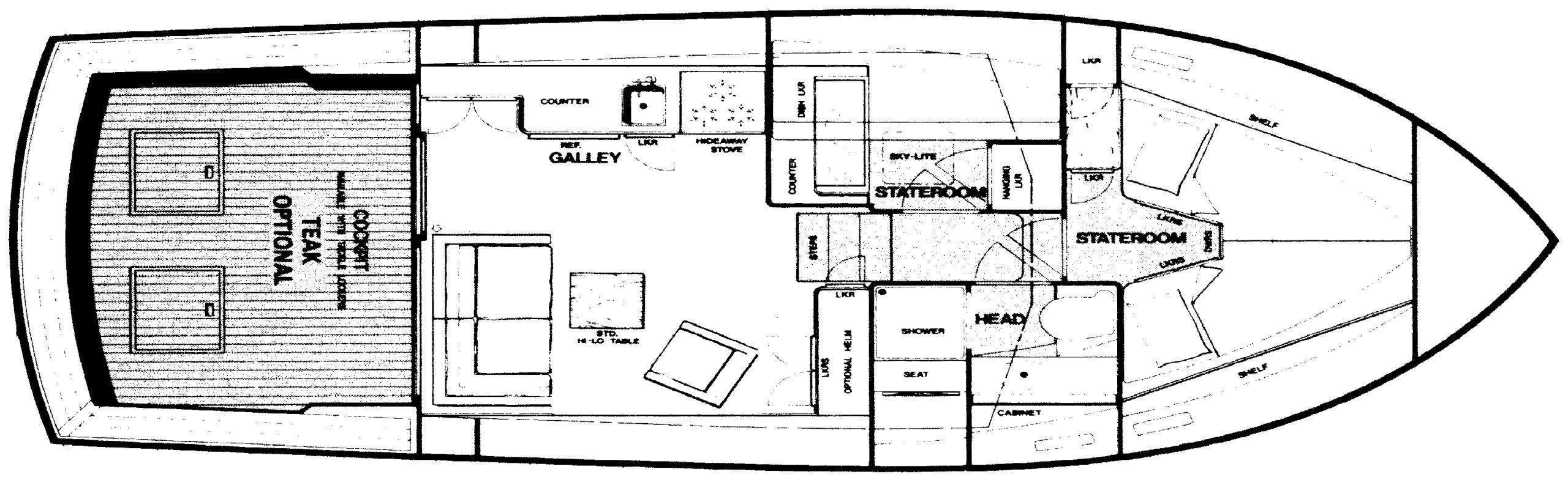 33 Sedan Floor Plan 2