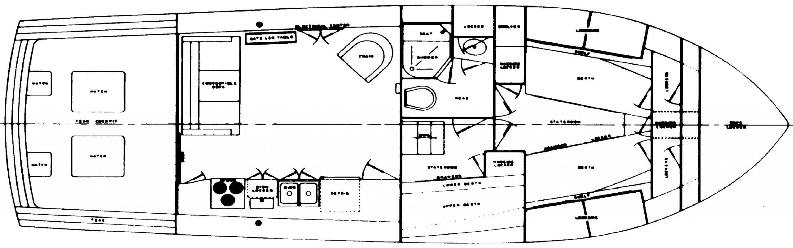 40 Sedan Floor Plan 2