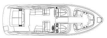 270 Bowrider Floor Plan 1