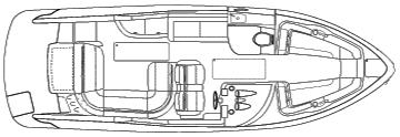 290 Bowrider Floor Plan 1