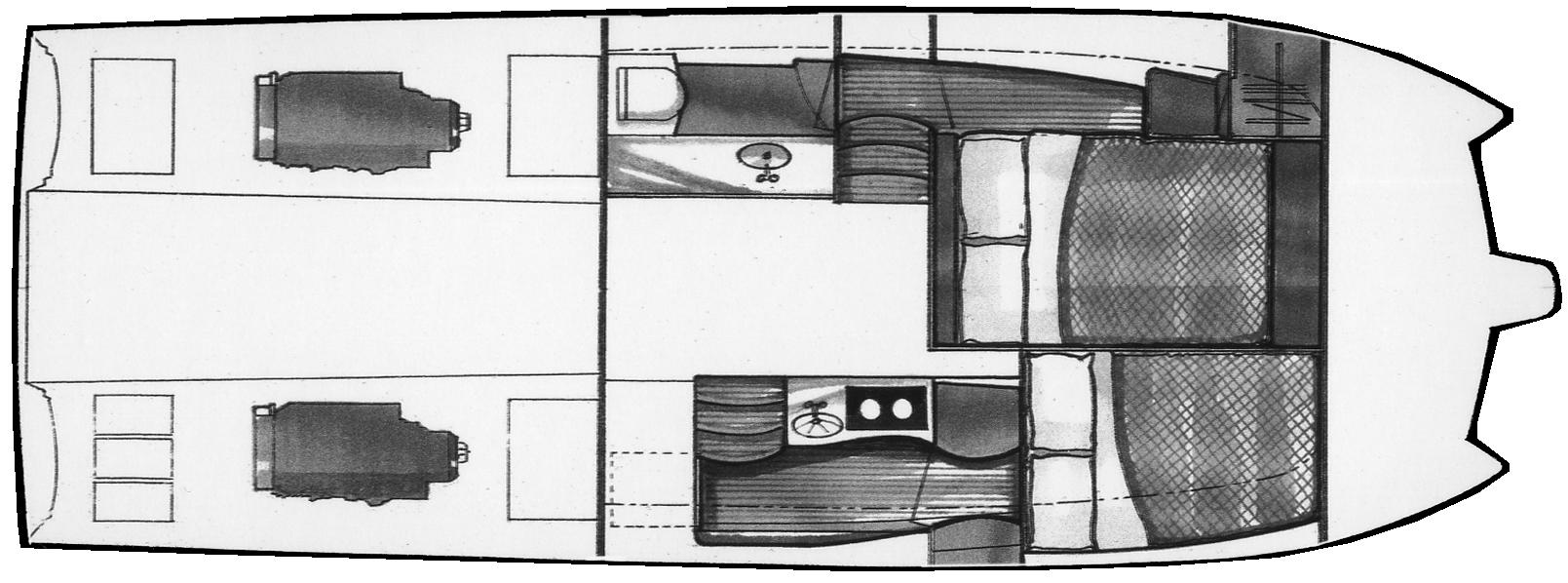 3470 Ocean Runner Floor Plan 1