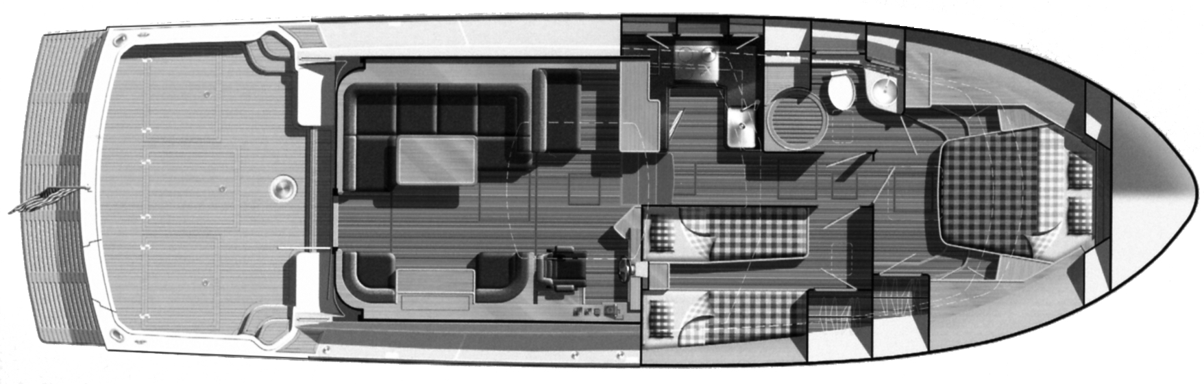 Eastbay 45 SX Floor Plan 2