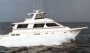 Gulfstar 63 Cockpit Motor Yacht