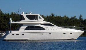 Hampton 600 Motor Yacht; 660 Cockpit MY