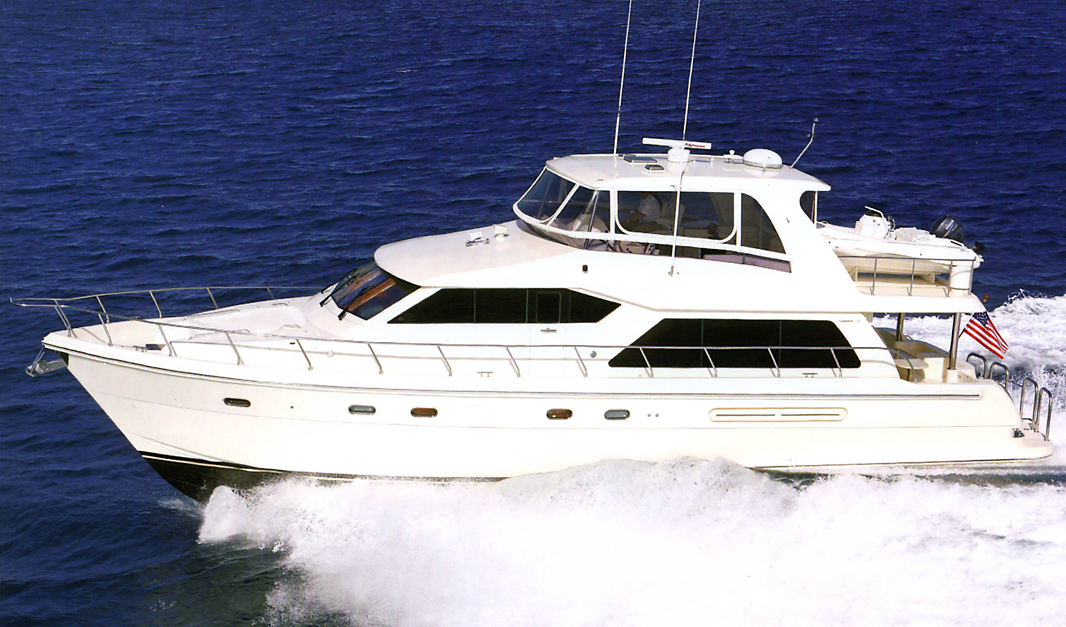 Hampton 630 Pilothouse