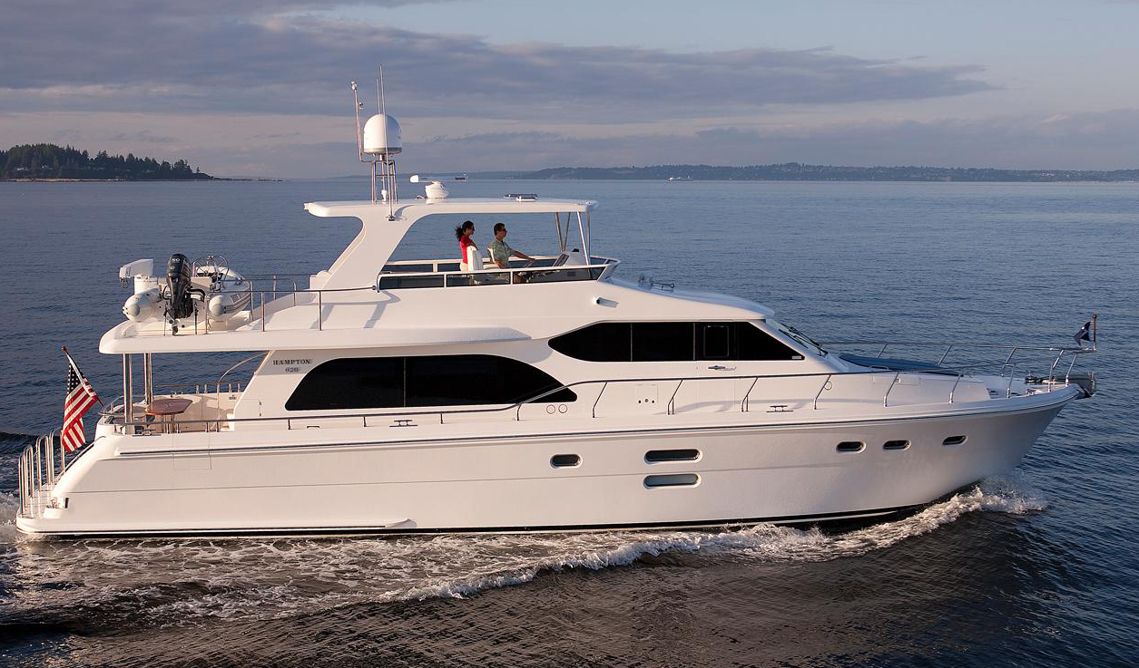 Hampton 680 Pilothouse