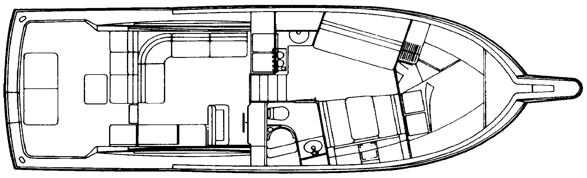 39 Sport Express Floor Plan 2