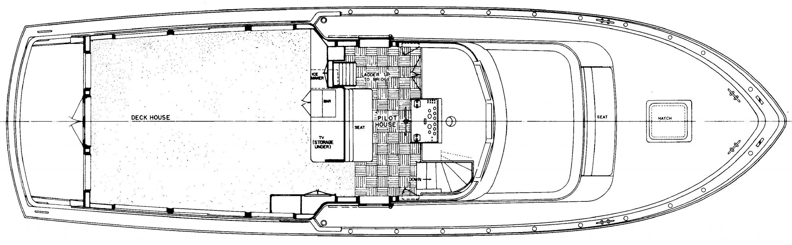 53 Extended Deckhouse Floor Plan 2