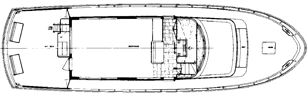 58 Motor Yacht Floor Plan 2