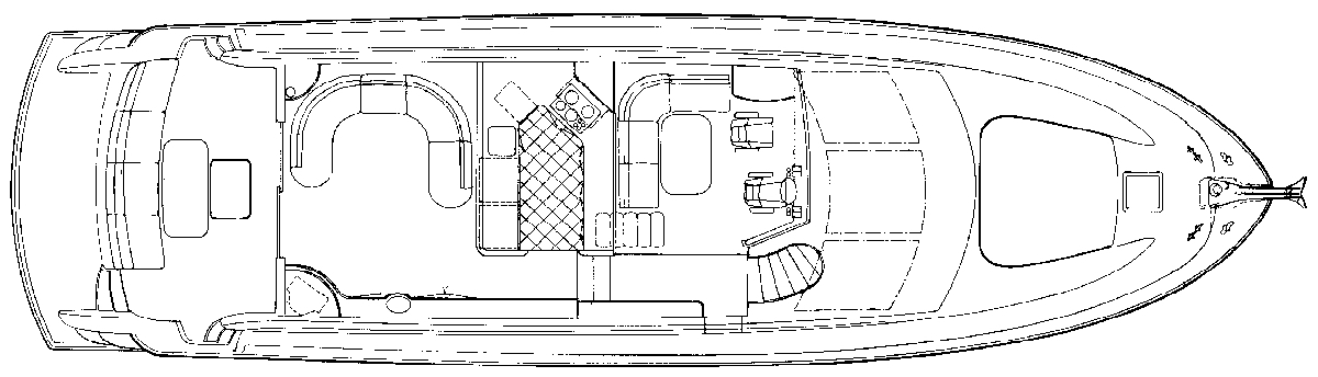 6300 Raised Pilothouse Floor Plan 2