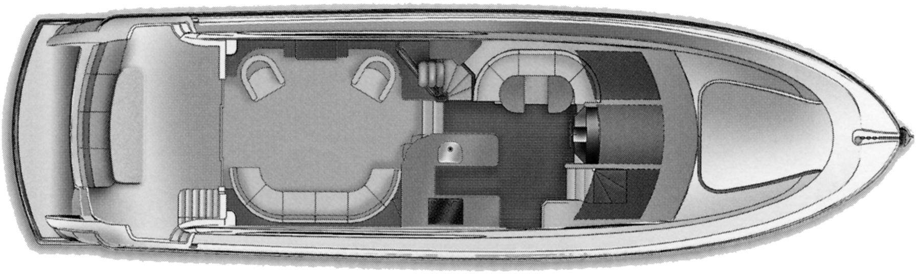 64 Motor Yacht Floor Plan 2