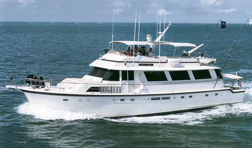 Hatteras 72 Cockpit Motor Yacht