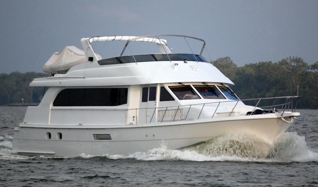 Hatteras 75 Sport Deck Motor Yacht