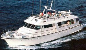 Hatteras 77 Cockpit Motor Yacht