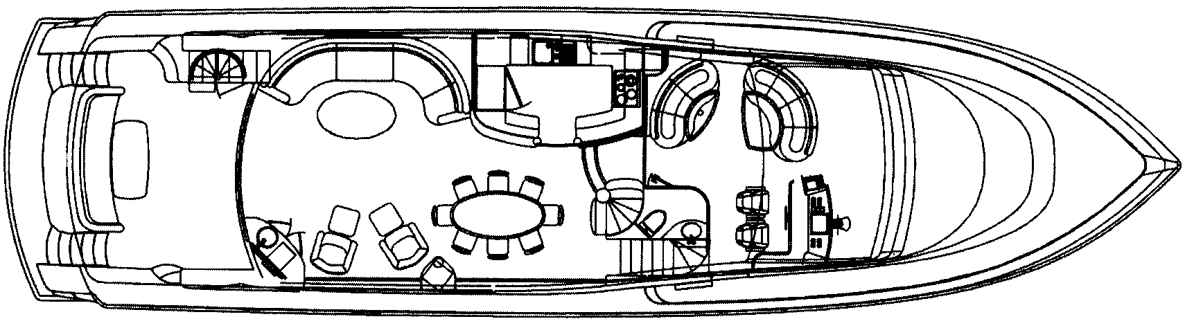 80 Motor Yacht Floor Plan 2