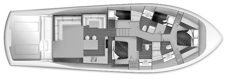 GT63 Convertible Floor Plan 1
