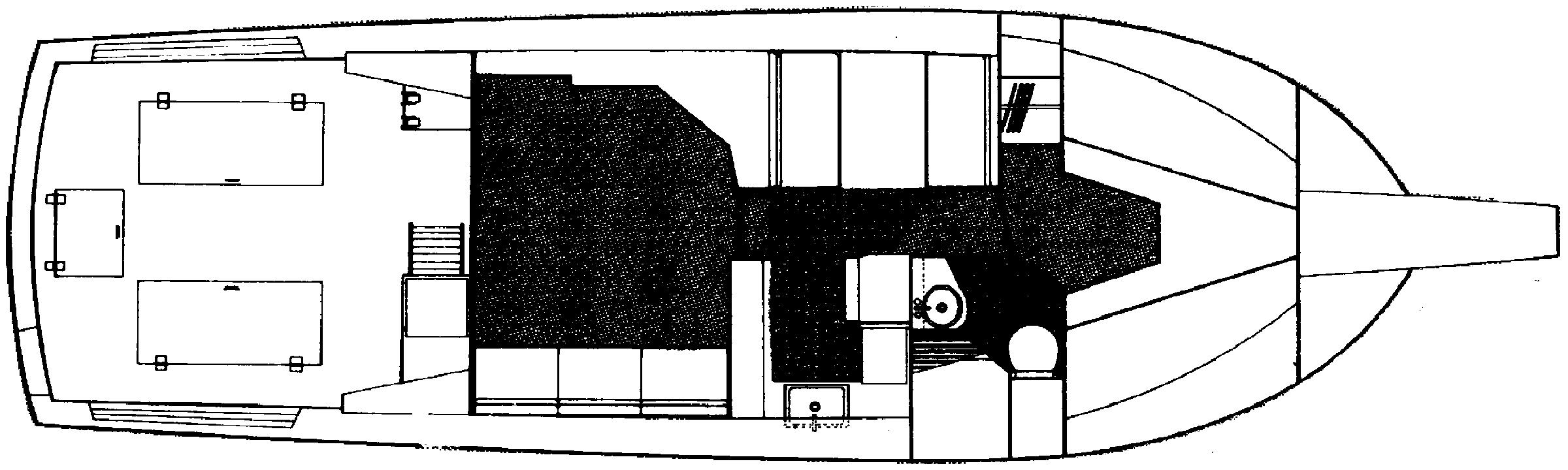 38 Flybridge Floor Plan 2