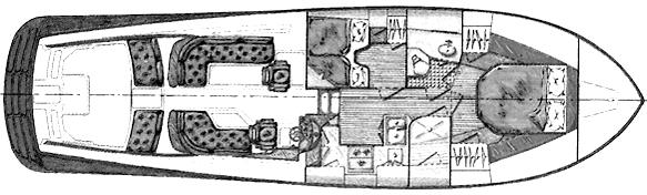 Talaria 44 EX Floor Plan 1