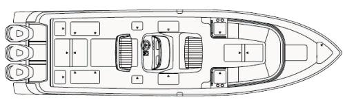 375 Center Console Floor Plan 1