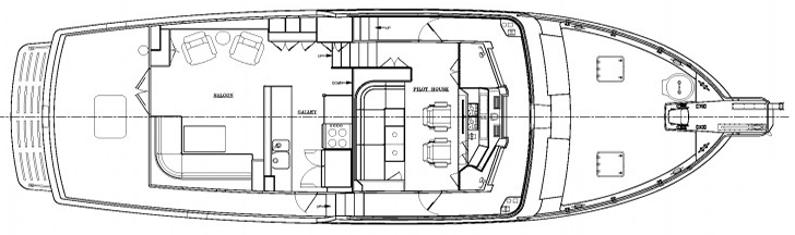 52 Trawler Floor Plan 2