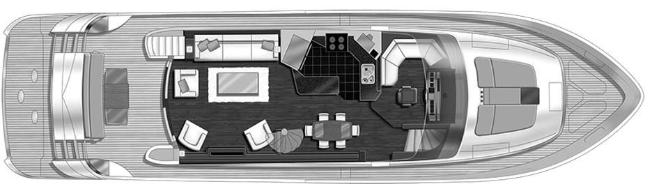 720 Flybridge Floor Plan 2