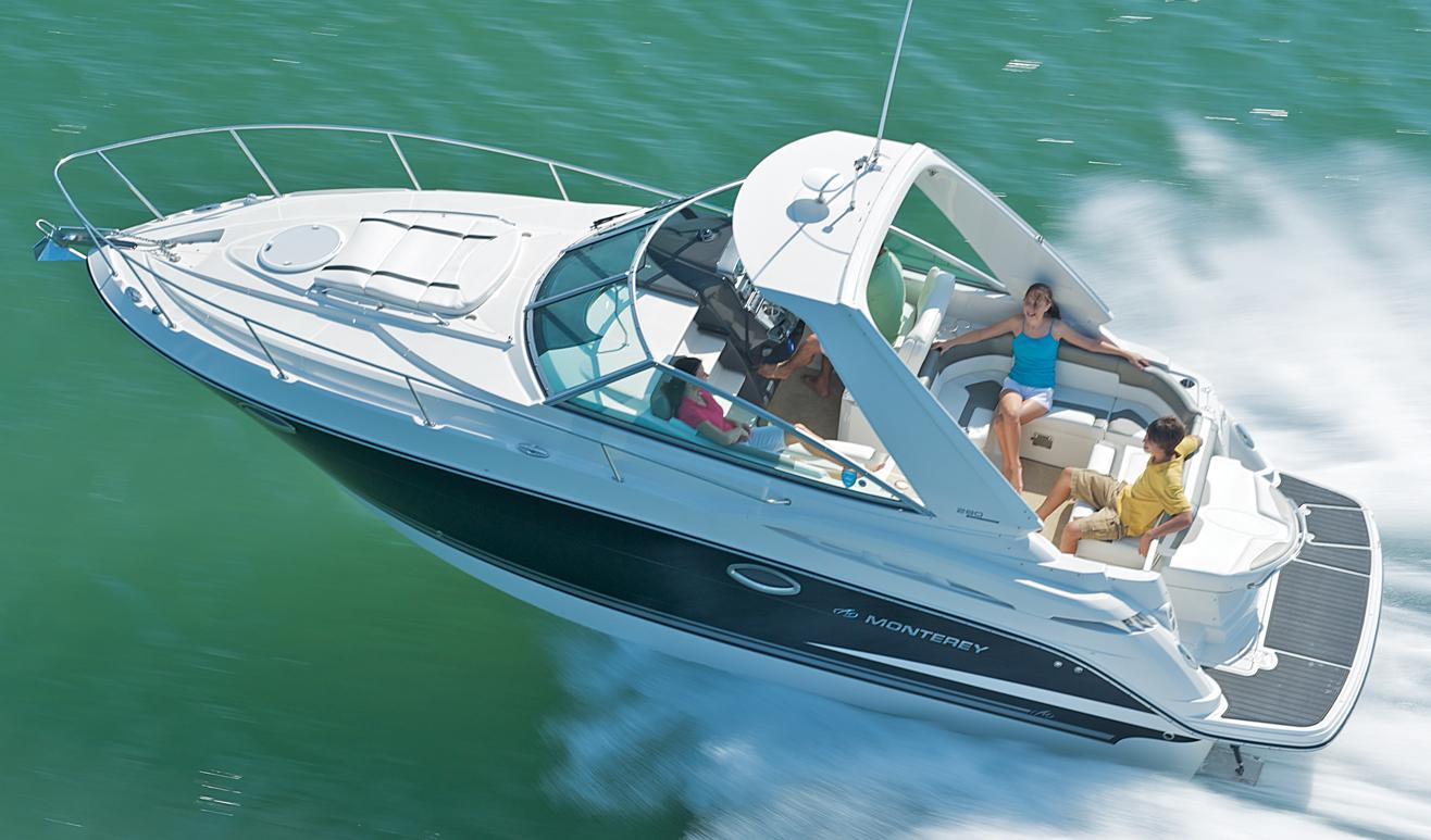 Monterey 280 SCR; 280–295 Sport Yacht