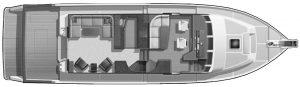54 Pilothouse Floor Plan 2