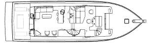 55 Pilothouse Floor Plan 1