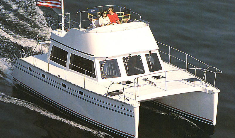 PDQ 32-34 Power Catamaran
