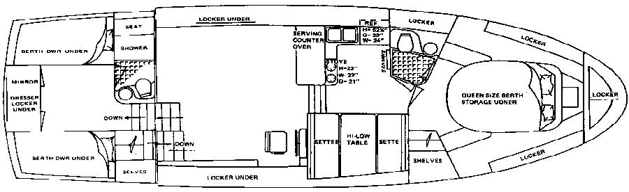 41 Double Cabin Floor Plan 2