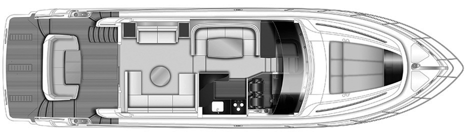 56 Flybridge Floor Plan 2