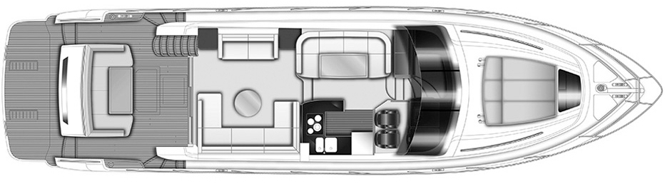 60 Flybridge Floor Plan 2
