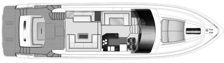 64 Flybridge Floor Plan 2