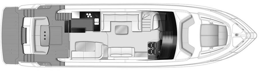 68 Flybridge Floor Plan 2