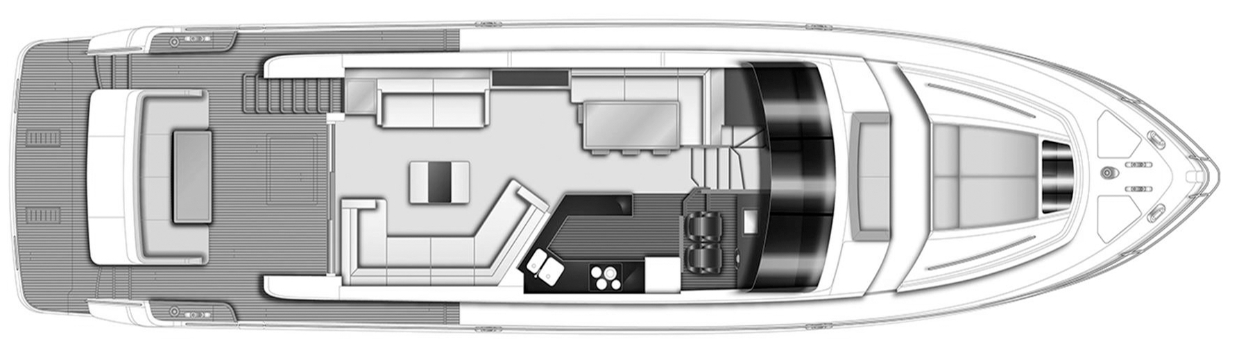 72 Motor Yacht Floor Plan 2
