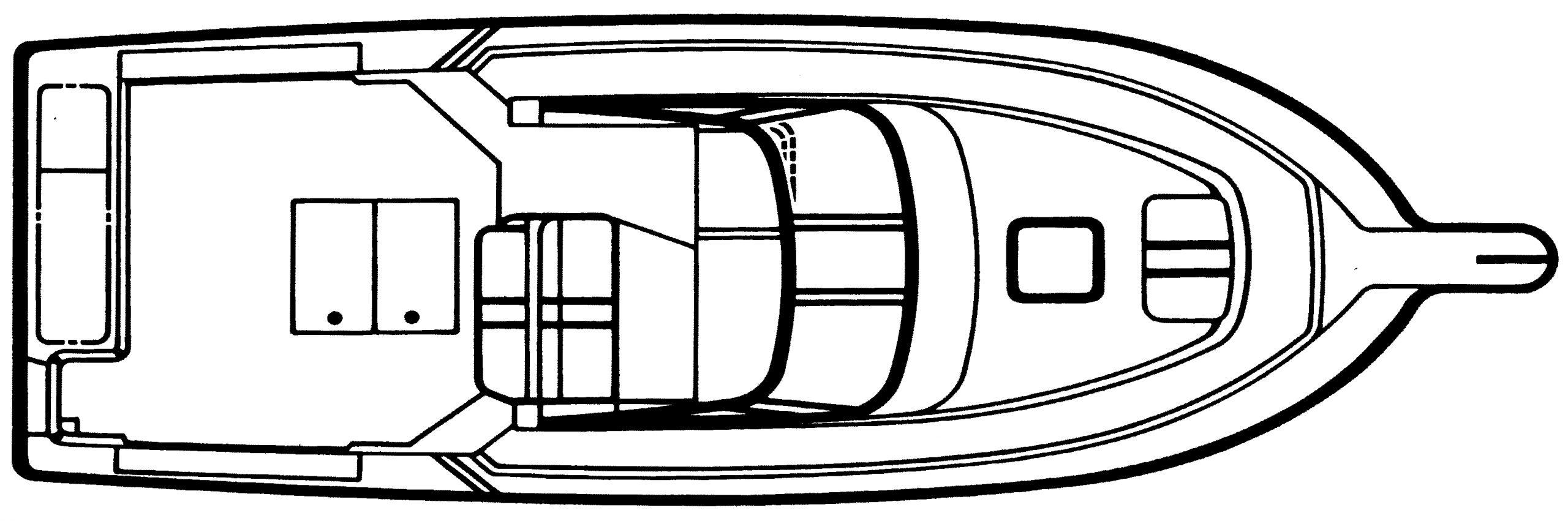 2950 Mid Cabin Floor Plan 1