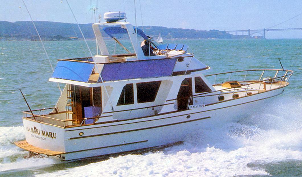 PT 41 Sedan Trawler