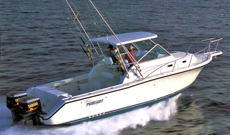 Pursuit 2855 Express Fisherman