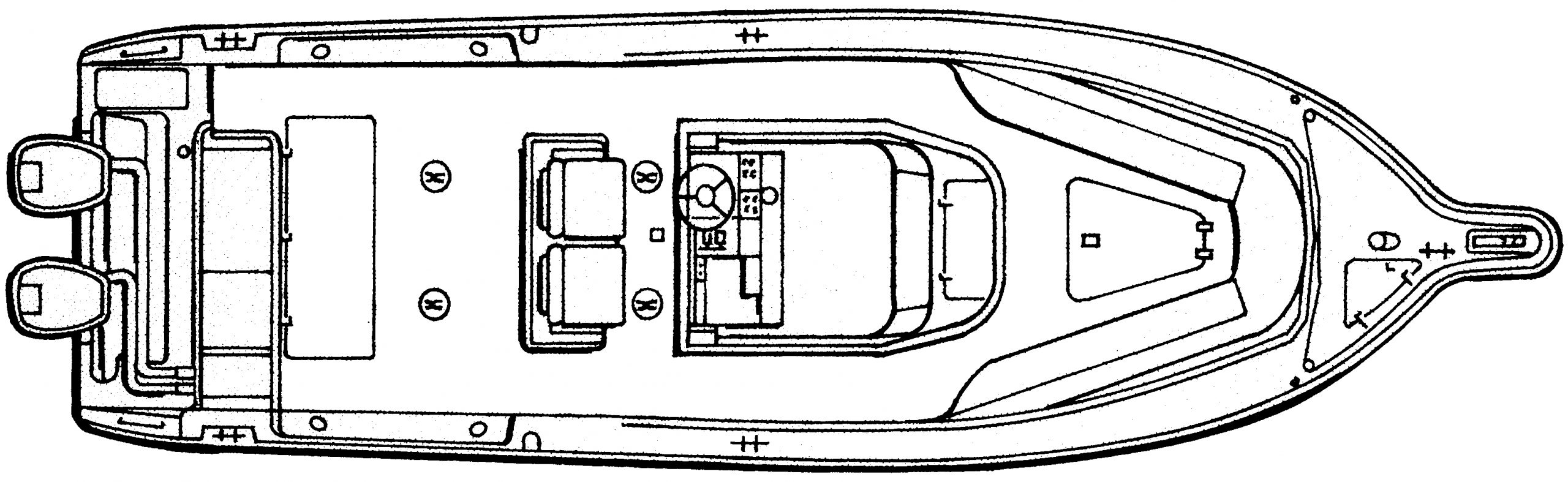 3070 Center Console; C 300 Floor Plan 1