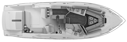 SC 365i Sport Coupe Floor Plan 1