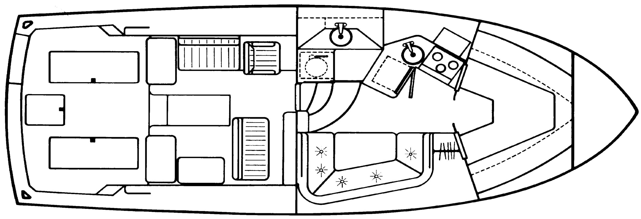 36 Sportfisherman Floor Plan 1