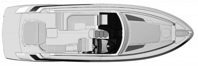 42 Sport Coupe Floor Plan 2
