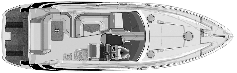 44-46 Sport Coupe Floor Plan 2