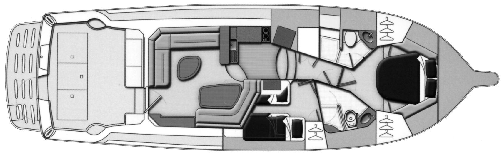 42 Convertible Floor Plan 1