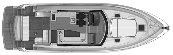 4800 Sport Yacht Floor Plan 2