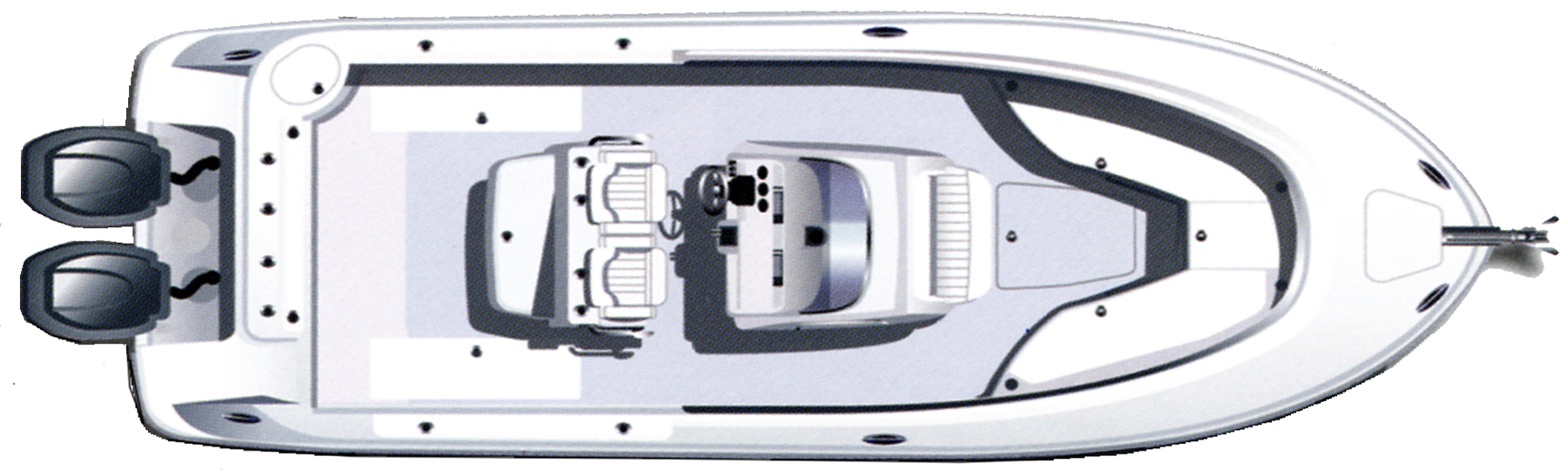 R300 Center Console Floor Plan 1