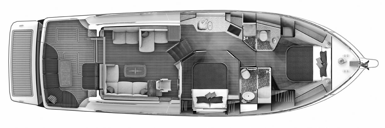 48 Salon Express Floor Plan 1