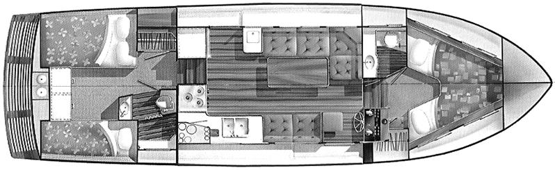 36 Aft Cabin Floor Plan 2