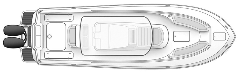 345 XSF; 350 LXF Floor Plan 1
