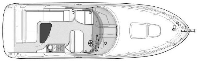 280 Sundancer Floor Plan 2